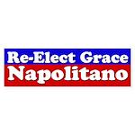 Re-Elect Grace Napolitano Bumper Sticker