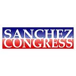 Sanchez for Congress Bumper Sticker