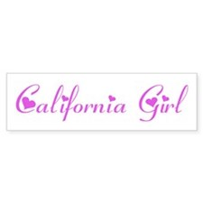 California Girl Bumper Sticker (10 pk)