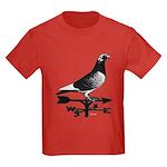 Racing Homer Weathervane Kids Dark T-Shirt