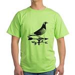 Racing Homer Weathervane Green T-Shirt