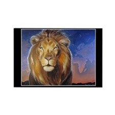 Aslan Calls Rectangle Magnet (10 pack)