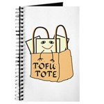 Funny Tofu Tote Journal