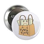 Funny Tofu Tote 2.25