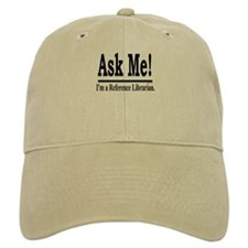 Ask Me! I'm a Reference Libra Baseball Cap