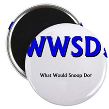 whatwouldsnoopdo Magnets