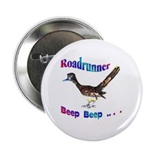"Roadrunner Beep Beep 2.25"" Button"