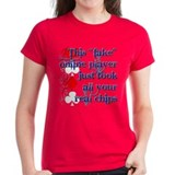 Fake Online Poker Players Tee