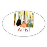 ACEO Art Bumper Stickers