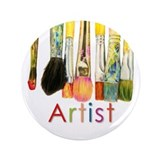 "ACEO Art 3.5"" Button (100 pack)"