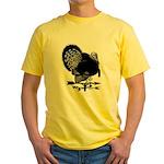 Turkey Weathervane Yellow T-Shirt