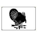 Turkey Weathervane Banner