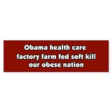 Obama Conspiracy Haiku Bumper Bumper Sticker