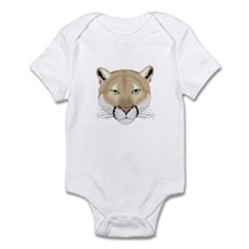 Beautiful Cougar Infant Creeper