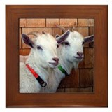 Goats Framed Tile