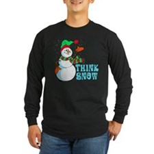 Festive Cartoon Snowman T