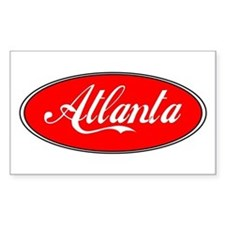 Atlanta Rectangle Decal