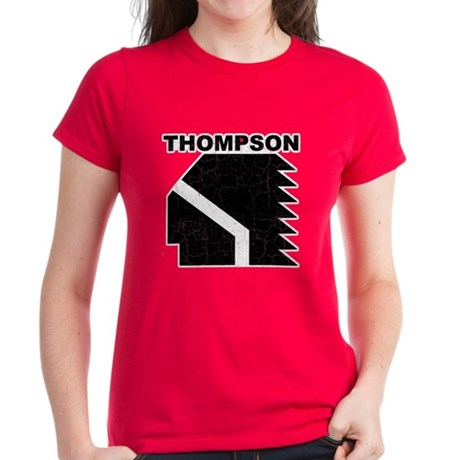 Thompson High Warriors Women's Dark T-Shirt
