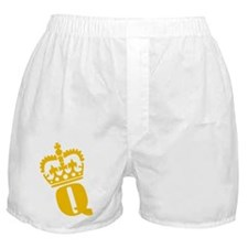 Q - character - name Boxer Shorts