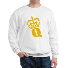 Q - character - name Sweatshirt