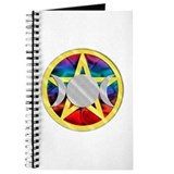 Wicca Pentagram Triple Goddess Journal