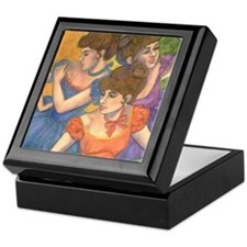 Degas Dancers Keepsake Box