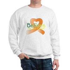 Believe, Leukemia Sweatshirt