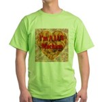 I'm A LUV Machine Green T-Shirt