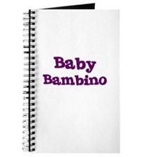 Baby Bambino Journal