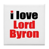 Lord Byron Tile Coaster