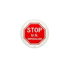 Stop U.S. Imperialism Mini Button (10 pack)