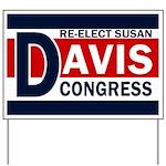 Re-Elect Susan Davis Yard Sign