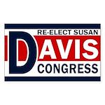 Re-Elect Susan Davis Bumper Sticker