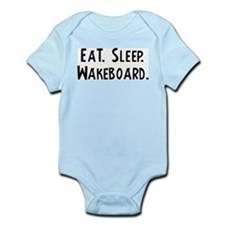 Eat, Sleep, Wakeboard Infant Creeper