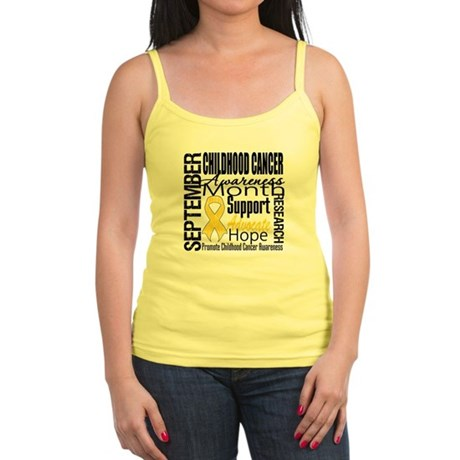 Childhood Cancer Month v4 Jr. Spaghetti Tank