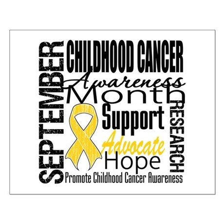 Childhood Cancer Month v4 Small Poster