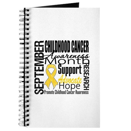 Childhood Cancer Month v4 Journal