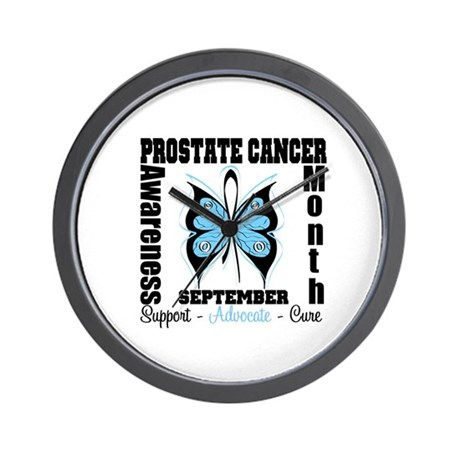 Prostate Cancer Month Wall Clock