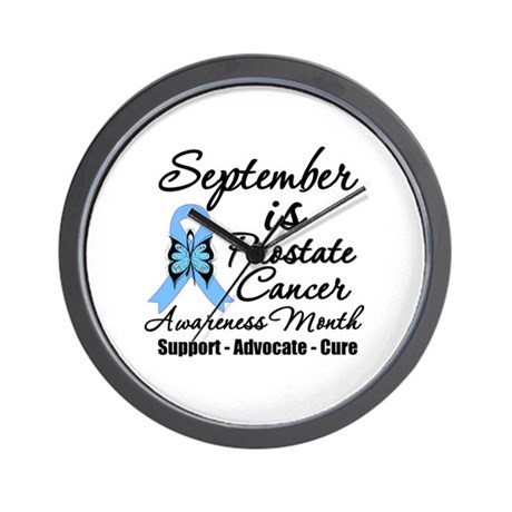 Prostate Cancer Month v3 Wall Clock