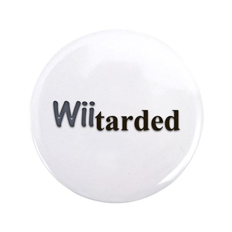 "wiitarded 3.5"" Button (100 pack)"