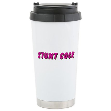stunt cock Ceramic Travel Mug