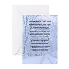 Stopping By The Woods Greeting Cards (Pk of 20)