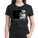 Smoking Hot Cigar Chick Women's Dark T-Shirt