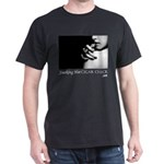 Smoking Hot Cigar Chick Men's Dark T-Shirt