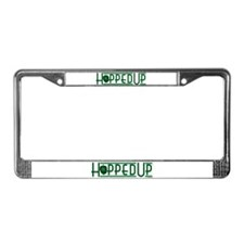 Hopped Up for Beer License Plate Frame