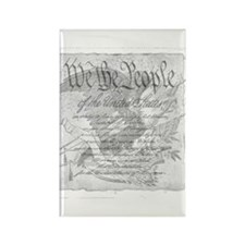 Cute Us constitution Rectangle Magnet
