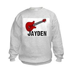 Guitar - Jayden Kids Sweatshirt