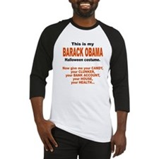 Barack Obama Halloween Costum Baseball Jersey