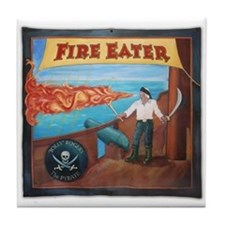Fire Eater Tile Coaster