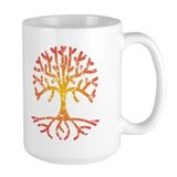 Distressed Tree IV Mug